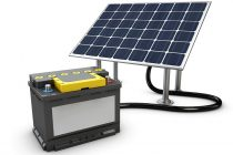 Different types of solar batteries
